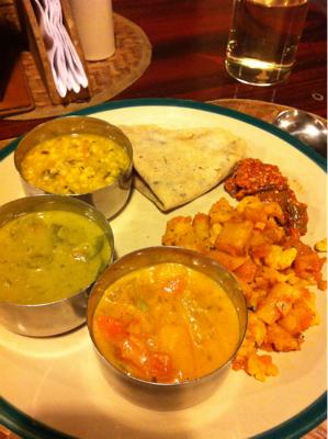 似て非なる南インド料理三昧