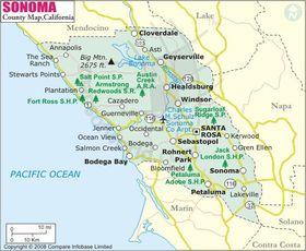 Sonomacountymap
